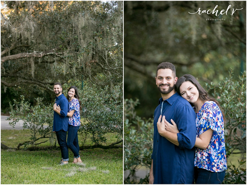 Leu Gardens Engagement session with Rachel V Photography in Orlando, Florida