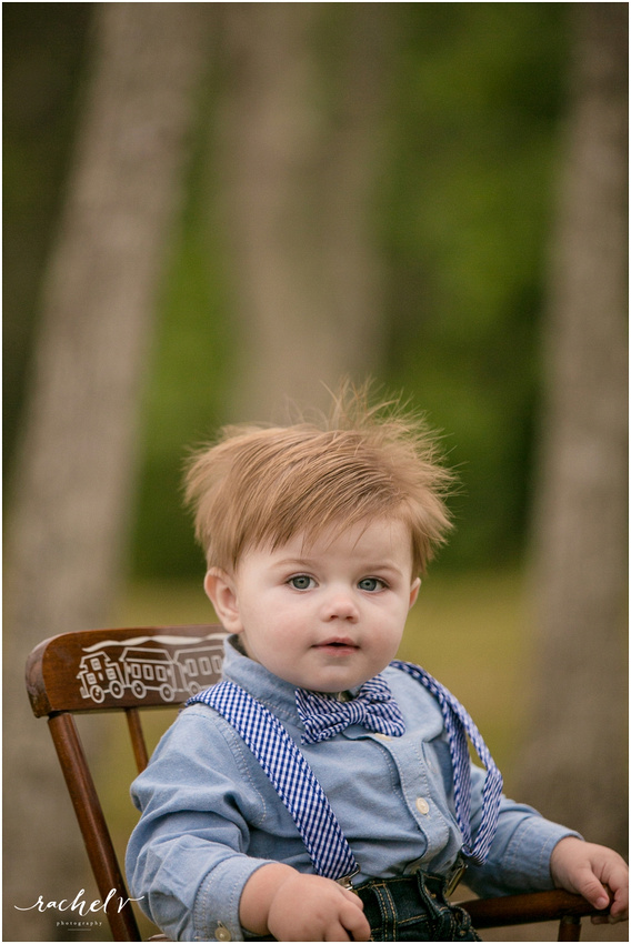 First Birthday shoot at Kewanee park in Maitland, Florida with Rachel V Photography
