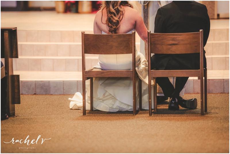 Kelley-Bibeau Wedding at St. Margaret Mary Catholic Church in Winter Park Florida with Rachel V Photography
