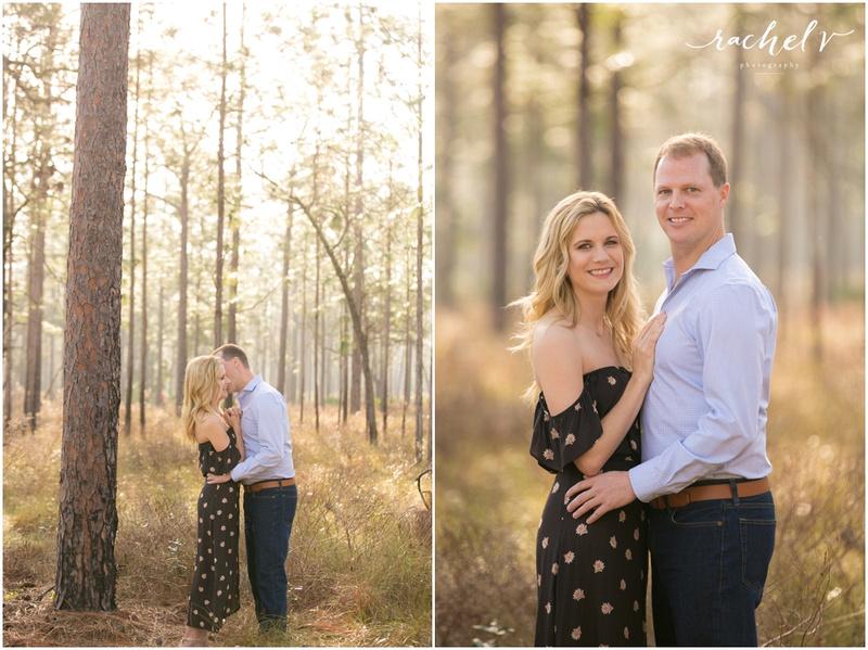 Sunrise Engagement shoot at Wekiva Springs, Florida with Rachel V Photography