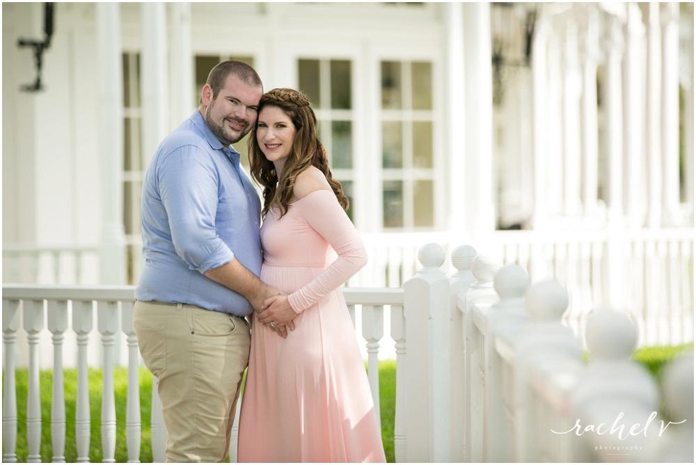 Maternity Photos at Disney's Grand Floridian with Rachel V Photography