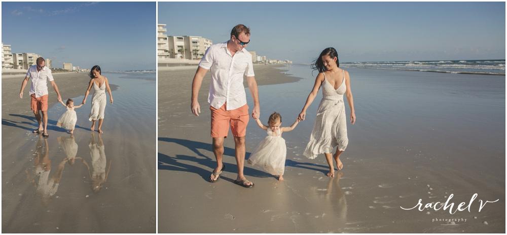 Mila Overchuck's 2 year portraits in New Smyrna Beach Florida with Rachel V Photography