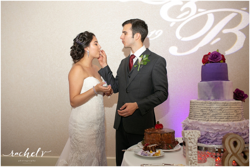 Lauren and Benjamin's Wedding at Lake Mary Events Center in Lake Mary, Florida with Rachel V Photography