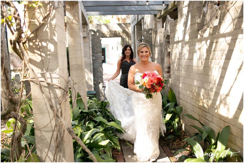 Wedding Ceremony Maitland Art Center Wedding with Rachel V Photography in Maitland Florida