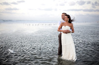 Trash The Dress- Jetty Park, Cape Canaveral