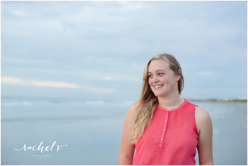 2016 Senior Session at Jetty Park in Cape Canaveral, Florida with Rachel V Photography