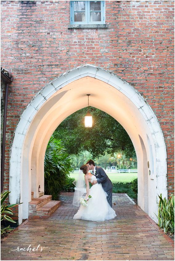 Summer Casa Feliz Wedding in Winter Park, Florida with Rachel V Photography