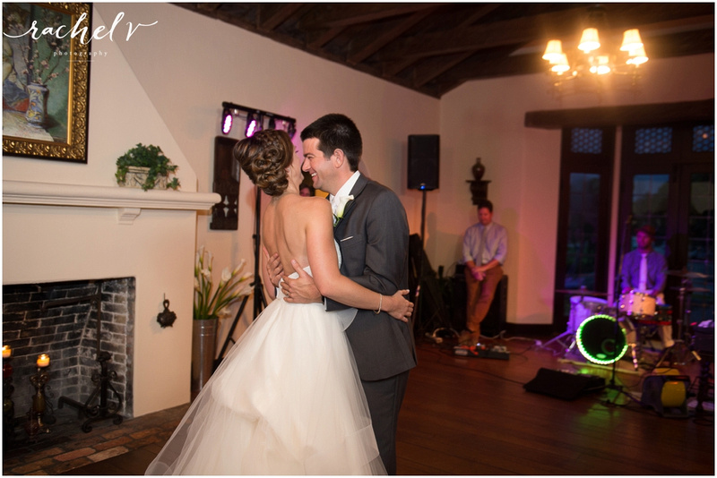 Summer Casa Feliz Wedding in Winter Park, Florida with Rachel V Photography