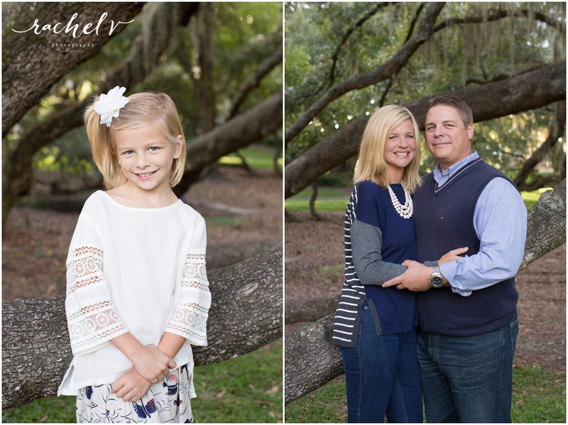 Family session at Loch Haven Park, Orlando Florida. With Rachel V Photography