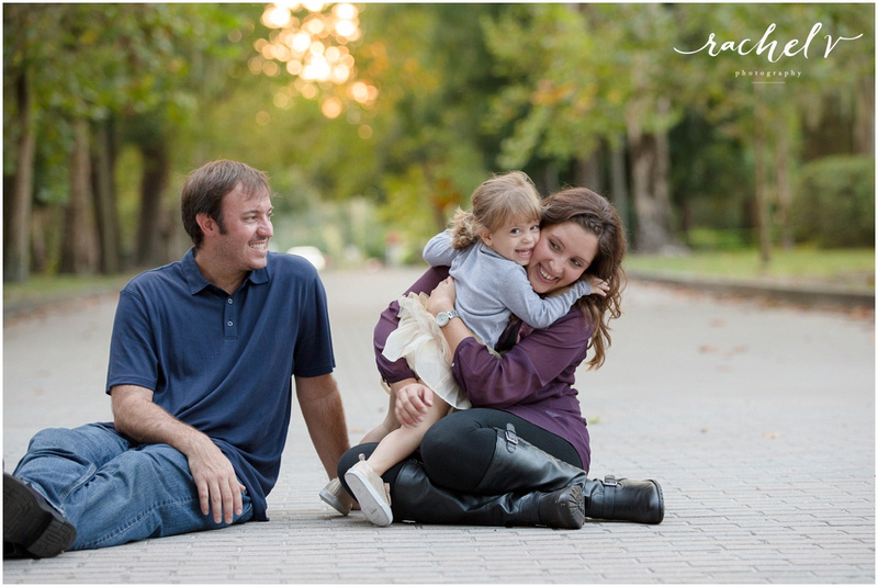 Adisano Family Portraits at mead Gardens in Winter Park, Florida with Rachel V Photography