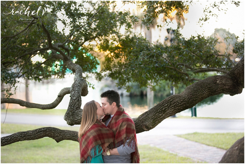 Downtown Orlando, lake Eola Engagement session