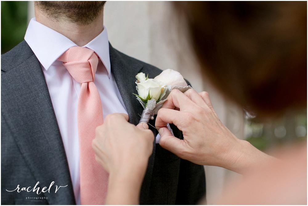 Wedding Ceremony at Kraft Azalea Garden in Winter Park, FL with Rachel V Photography