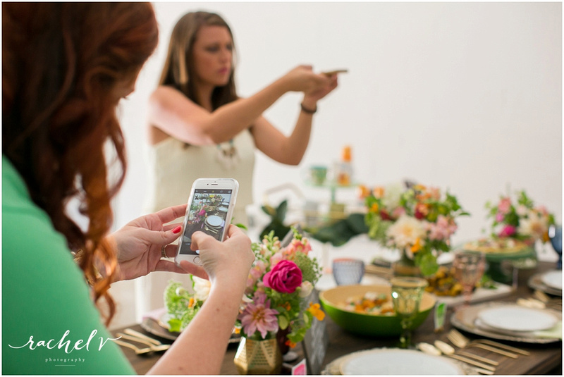 Summer Floral Party at Orange Studio, Orlando, FL with Melissa Creates and Rachel V Photography