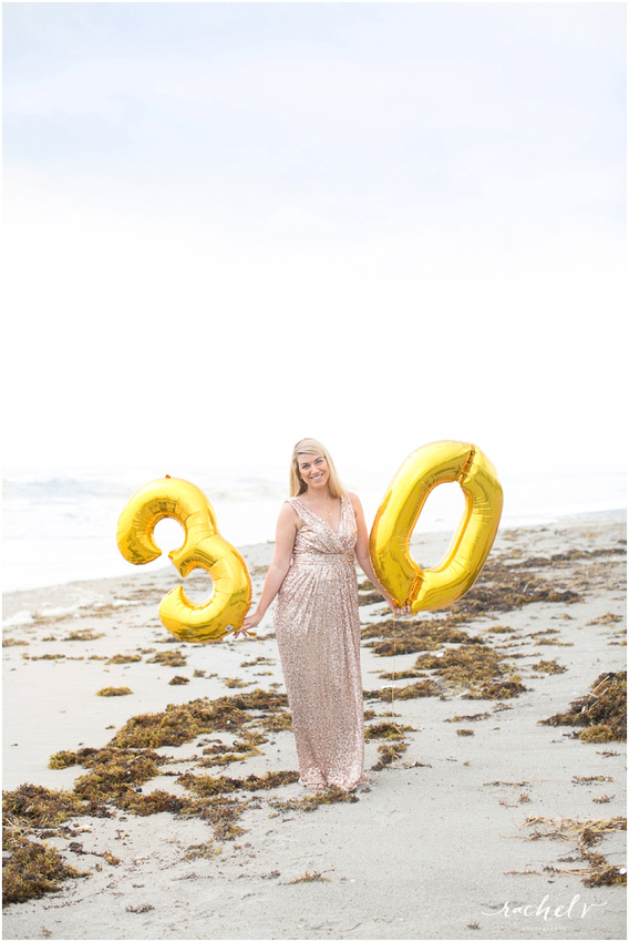 Sophosticated sunrise beach shoot using smoke grenades with Rachel V Photography