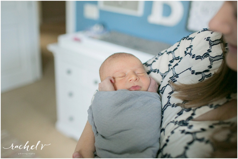 Muller lifestyle Newborn session with Rachel V Photography in Orlando, FL