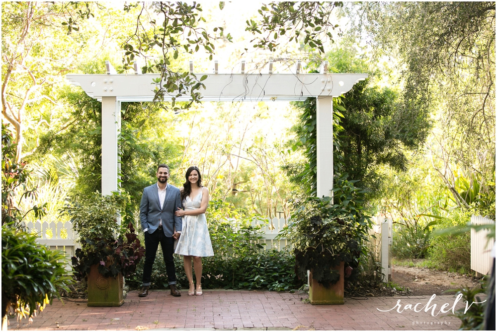 Leu Gardens Engagement session with Rachel V Photography in Orlando, Florida