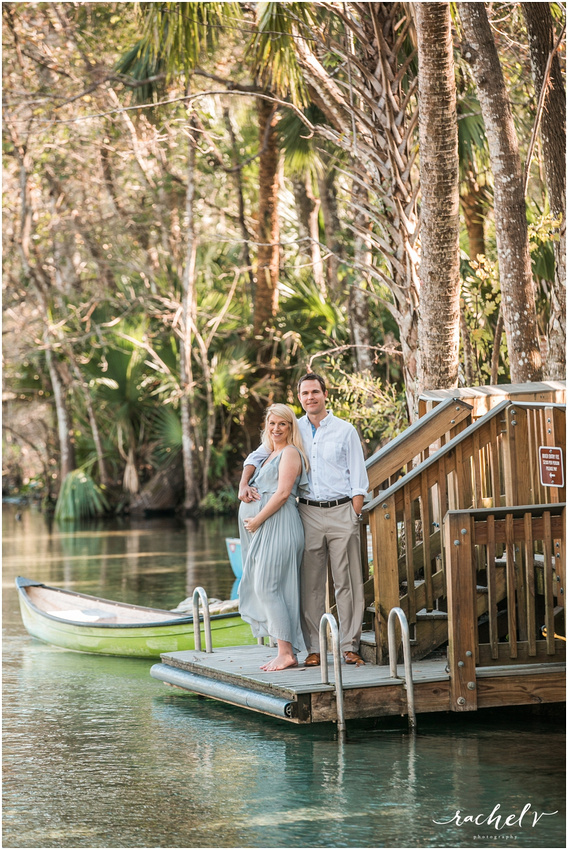 Wekiva Springs Maternity Session with Rachel V Photography
