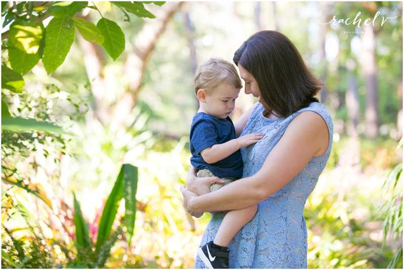 Romano Family session at Mead Gardens in Winter Park Florida with Rachel V Photography
