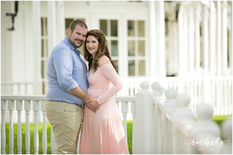 Maternity Photos at Disney's Grand Floridian with Rachel V Photography