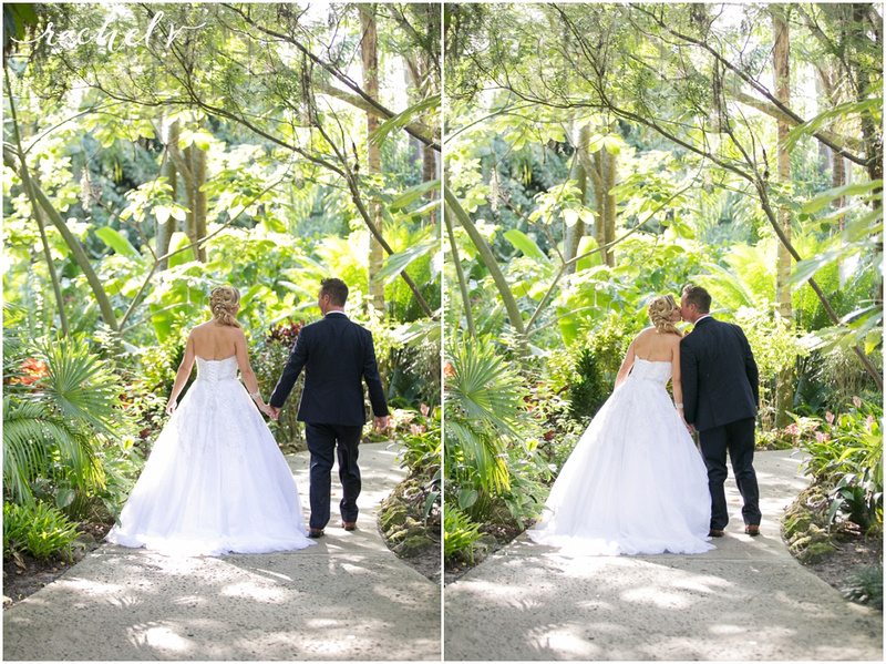 Jeff and Cynthia's Summer wedding at Leu Gardens in Orlando, Florida with Rachel V Photography