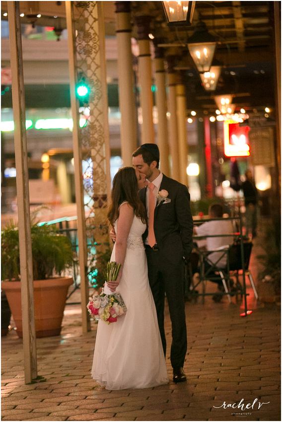 Wedding at Ceviche Orlando on Church Street in Orlando, FL with Rachel V Photography