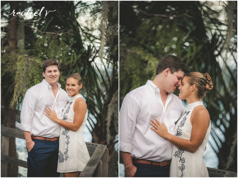 Rollins College Engagement Session with Rachel V Photography
