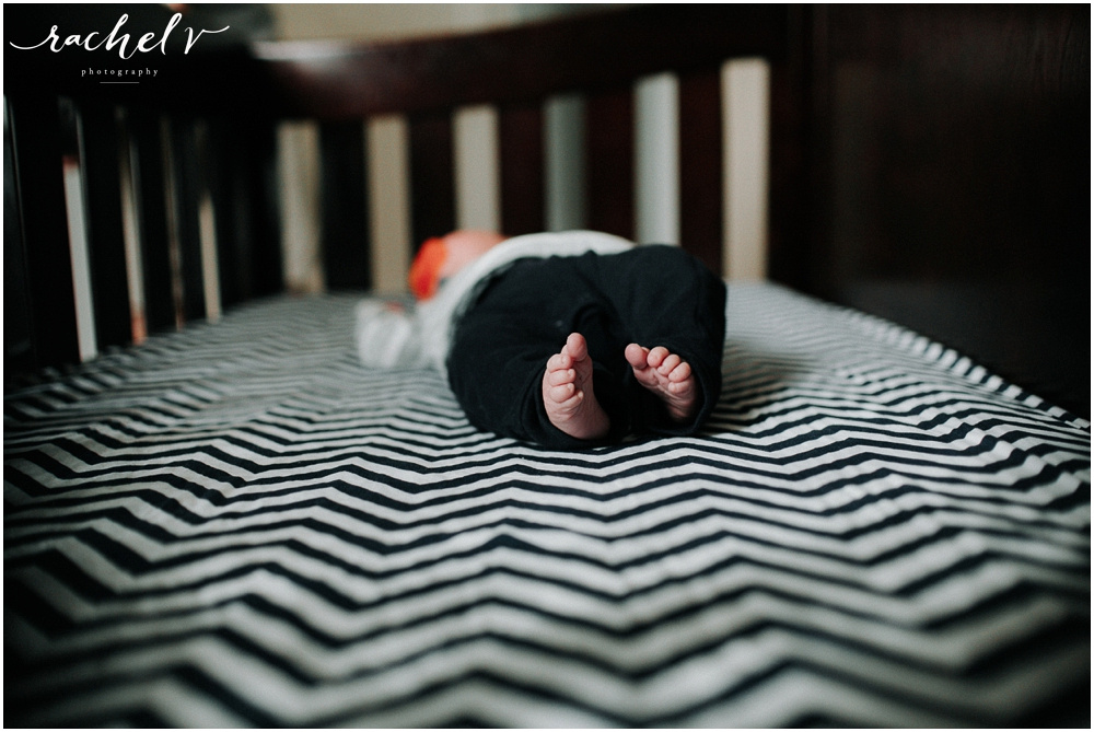 Melissa Creates home lifestyle Newborn session with Rachel V Photography