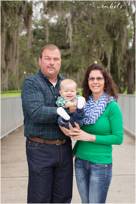 Chambers family session at Loch Haven Park in Orlando, Florida with Rachel V Photography
