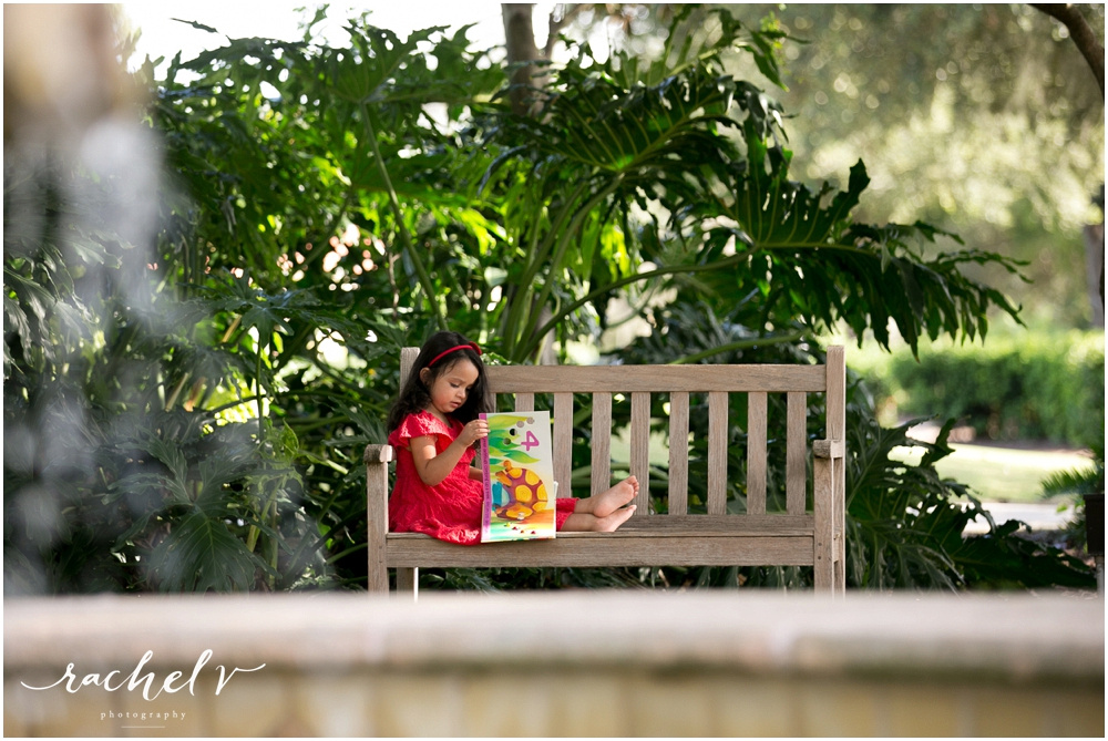 3rd Birthday shoot in Winter Park, Florida with Rachel V Photography