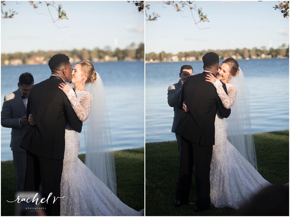 Intimate Lakeside Wedding with Rachel V Photography
