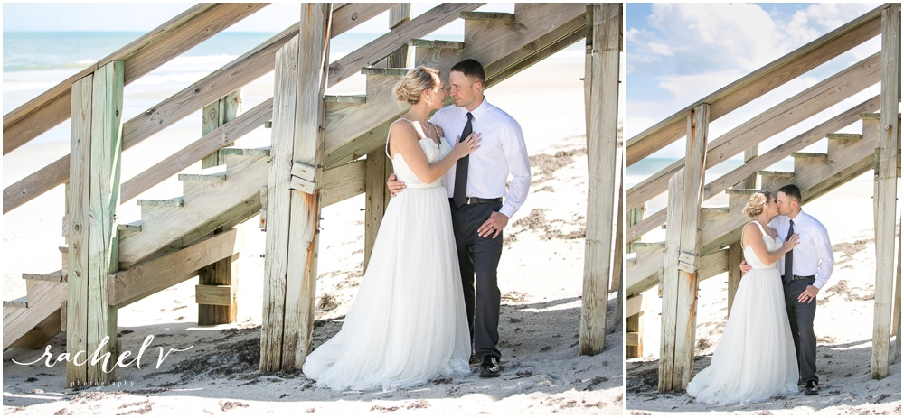 Kaci & Kerry's Wedding at The Tides Collocated Club at Patrick Air Force Base in Vero Beach, Florida with Rachel V Photography
